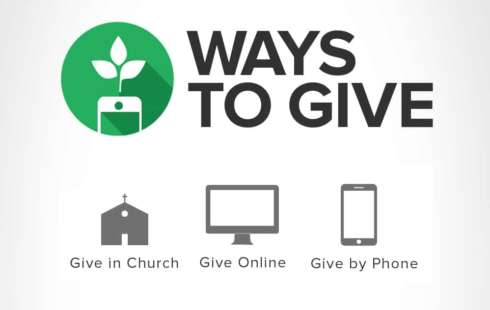 Now Accepting Online Giving Through Tithe.ly
